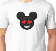 Micky Emoji - In Love Unisex T-Shirt