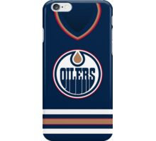 Edmonton Oilers 2003-07 Home Jersey iPhone Case/Skin