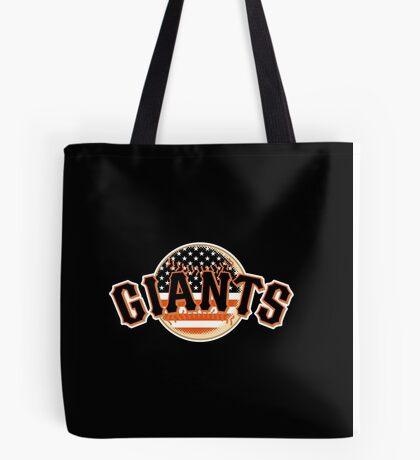 San Francisco Giants Flag Logo Tote Bag