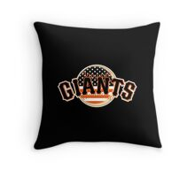 San Francisco Giants Flag Logo Throw Pillow
