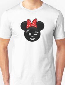 Minnie Emoji - Wink T-Shirt