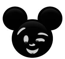 Micky Emoji - Wink by LauryQuinn