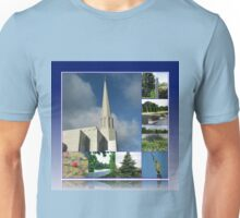 Holiness to the Lord - The Preston Temple in Summer Unisex T-Shirt