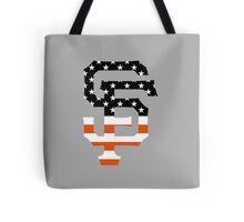 San Francisco Giants Flag Logo Tote Bag