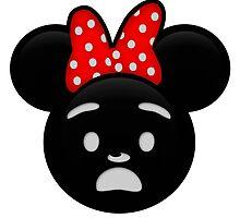 Minnie Emoji - Shock by LauryQuinn