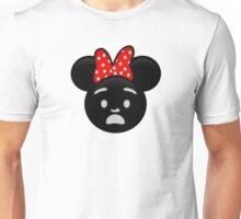 Minnie Emoji - Shock Unisex T-Shirt