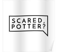 Scared, Potter? Poster