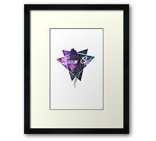 The Space Cat Framed Print