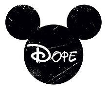 Dope Mickey Photographic Print