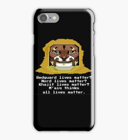 M'aiq on #BLM (TES Lore) iPhone Case/Skin