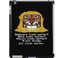 M'aiq on #BLM (TES Lore) iPad Case/Skin