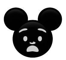 Micky Emoji - Shock Photographic Print