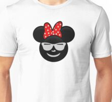 Minnie Emoji - Shades Unisex T-Shirt