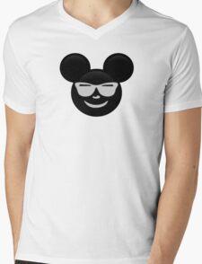 Micky Emoji - Shades Mens V-Neck T-Shirt