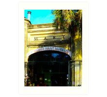 Old Slave Mart Museum~Charleston Art Print