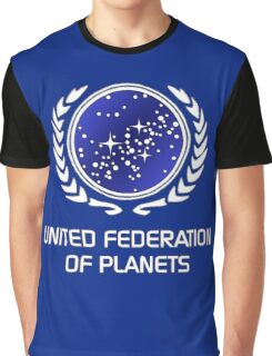 United Federation of Planets Graphic T-Shirt