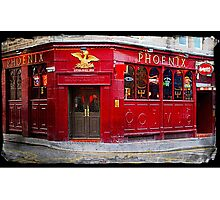 The Phoenix Bar in Dundee Scotland Photographic Print