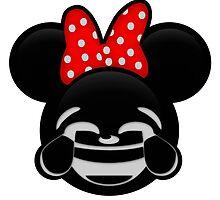 Minnie Emoji - Laughter by LauryQuinn