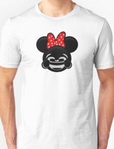 Minnie Emoji - Laughter T-Shirt