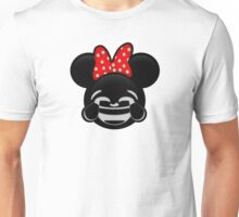 Minnie Emoji - Laughter Unisex T-Shirt