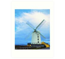 Blennerville Windmill, County Kerry, Ireland Art Print