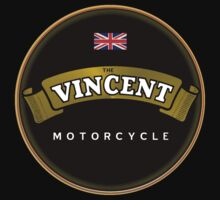 Vincent motorcycle England by Nostalgix