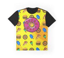 DISREGARD junk food Graphic T-Shirt