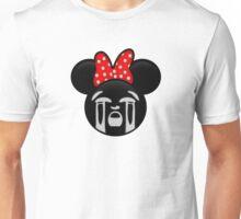 Minnie Emoji - Bawling Unisex T-Shirt