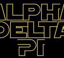 ADPi Star Wars Style Sticker