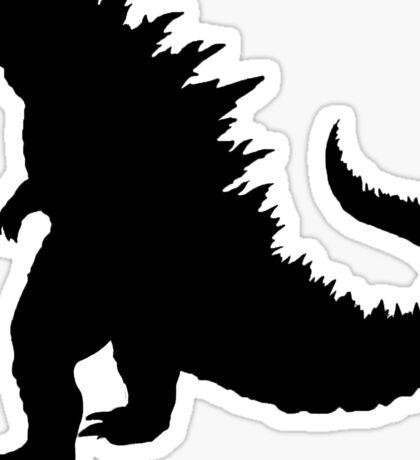 Godzilla Sticker
