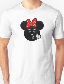 Minnie Emoji - Sweet Kiss T-Shirt