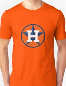 Houston Astros Color Swap Logo Unisex T-Shirt
