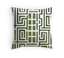 Overlook Hotel Shrub Labyrinth - The Shining Throw Pillow