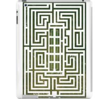Overlook Hotel Shrub Labyrinth - The Shining iPad Case/Skin