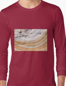 Australian rock formation background, sandstone texture Long Sleeve T-Shirt