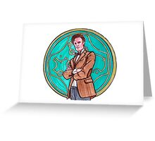 .11th Doctor. Greeting Card