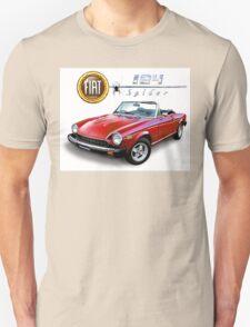 Fiat 124 spider T-Shirt