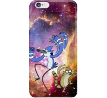 Regular show in space! iPhone Case/Skin