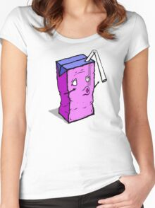 Thirsty Juice Box Women's Fitted Scoop T-Shirt
