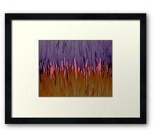 Oraple - When Orange and Purple Collide Framed Print