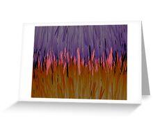 Oraple - When Orange and Purple Collide Greeting Card