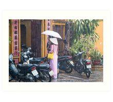 Rainy Season Vietnam Art Print