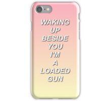 One Direction No Control Lyrics iPhone Case/Skin