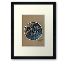 N64 Majora's Mask Moon Framed Print
