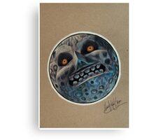 N64 Majora's Mask Moon Canvas Print