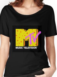 90's MTV Women's Relaxed Fit T-Shirt