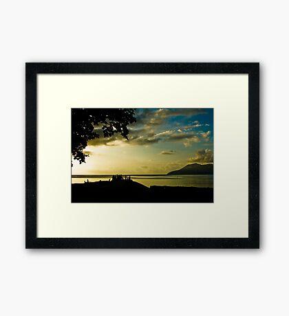 Tropical Islands, Vanuatu Framed Print