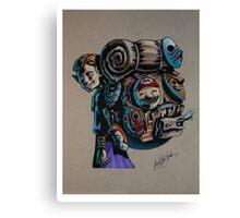 N64 Majora's Mask Mask Salesman Canvas Print