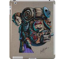 N64 Majora's Mask Mask Salesman iPad Case/Skin
