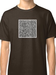 interjection QR code Classic T-Shirt